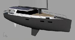 Jacht hybrydowy ze Szczecina