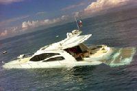 Zaton±³ jacht motorowy w Chorwacji