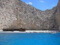 Zakynthos -pla¿a wraku - Wreck Bay